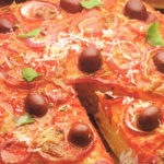 Пицца пышная